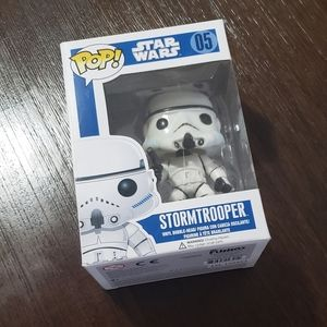 Starwars storm trooper PoPs! Figure